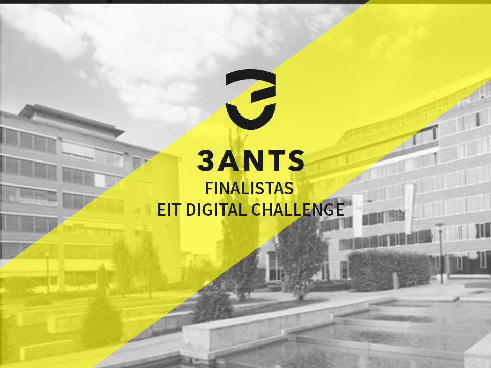 3Ants is an EIT finalist among many other European startups.