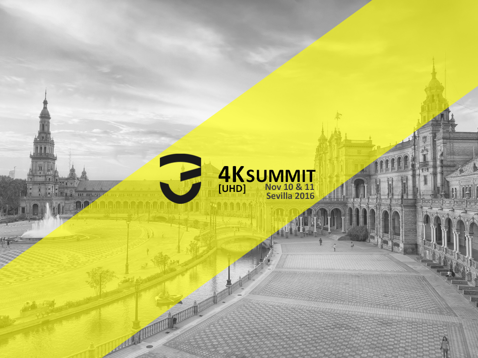 The 4K-UHD Summit 3Ants has been invited to will be held in Seville.